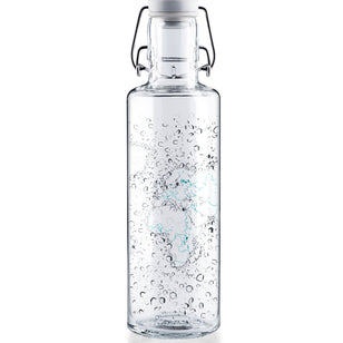 WATERWORLD - 0,6l Glasflasche