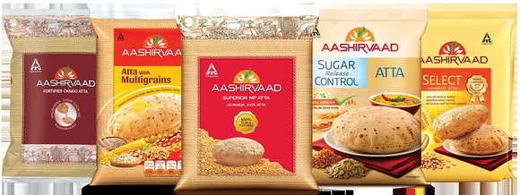 Aashirvaad Atta 10 kg @375 Only