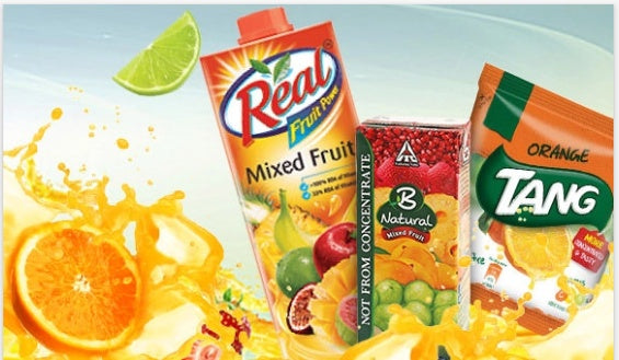 fruit juices & mixes Upto 30% Offer