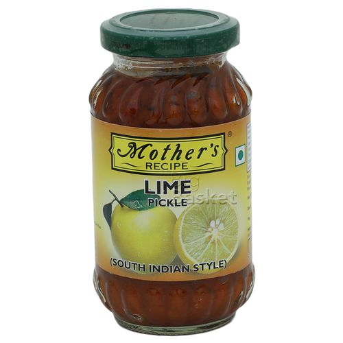 Mothers Recipe Pickle - Lime (South Indian Style), 300 g Jar