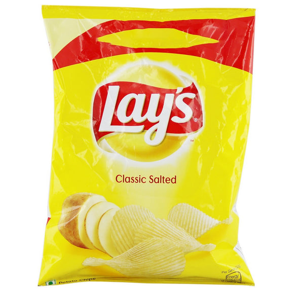 Lays Potato Classic Salted 52gx 2Nos Pack of 2