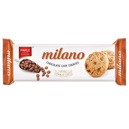 Parle Milano Choco Chip Cookies, 75 g Pouch