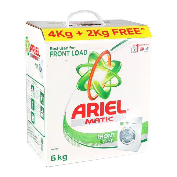Ariel Matic Top Load Detergent Powder 4 kg  (2 kg Extra in Pack)