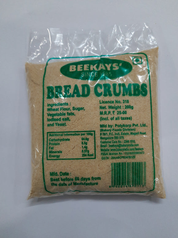 Muffets & Tuffets BREAD CRUMBS 250G