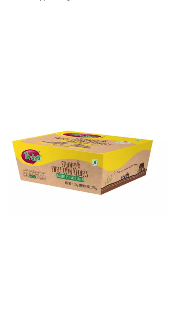 Ta-daa Sweet Corn Cereals  Lemon& Pepper 225g Box