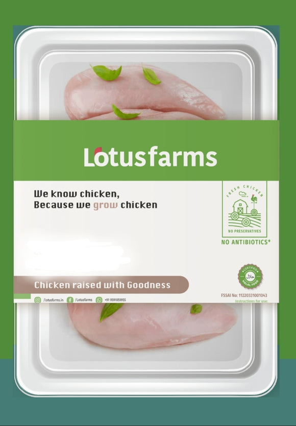 Lotus Farms Boneless Chicken