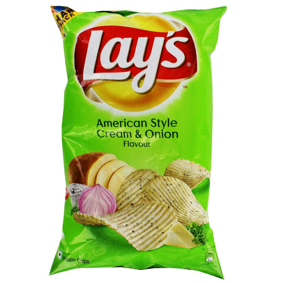 Lays American Style Cream & Onion Potato Chips