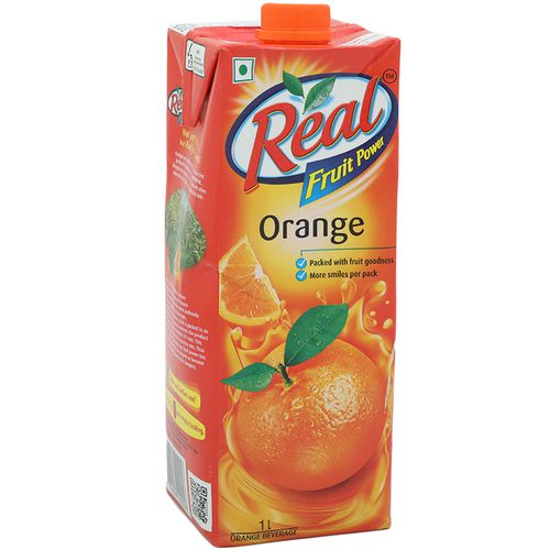 Real Juice - Fruit Power, Orange/Santra, 1 L