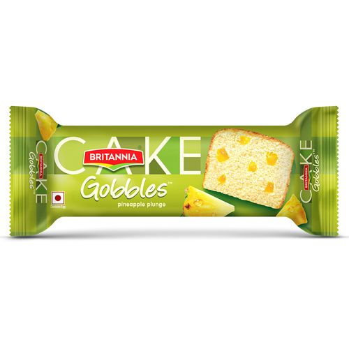 Britannia Cakes - Pineapple, 55 g Pouch pack of 2