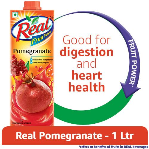 Real Juice - Fruit Power, Pomegranate/Anar, 1 L