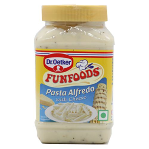 FunFoods Pasta Sauce - Alfredo with Cheese, 275 g PET