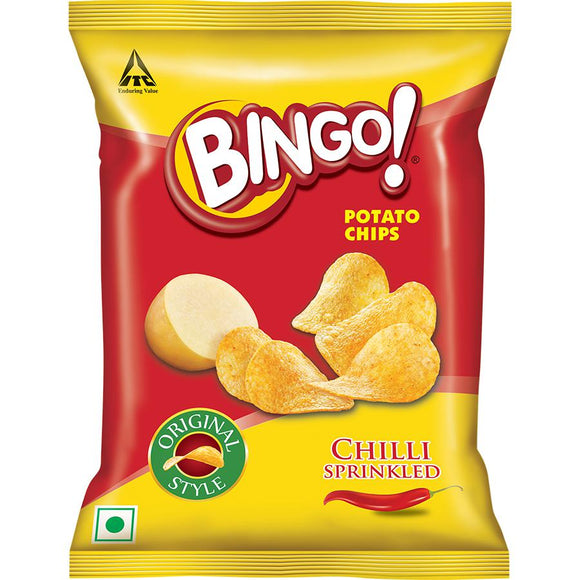 Bingo Potato Chips - Chilli Sprinkled, 60 g