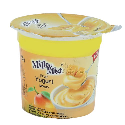 Milky Mist Fruit Yoghurt - Mango, 100 ml