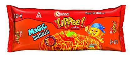Yippee Sunfeast Noodles, Magic Masala, 240 g, 4 in One Pack(Buy one Get one Free)