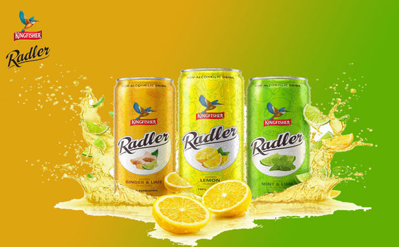 Kingfisher Radler  Flavour Can  (300 ml)