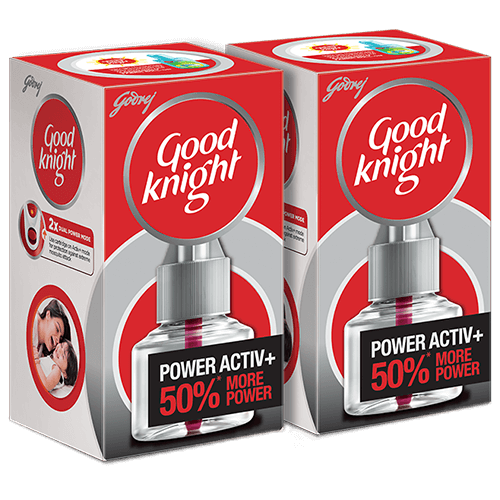 Good knight Power Active +++, Refill (60 nights)