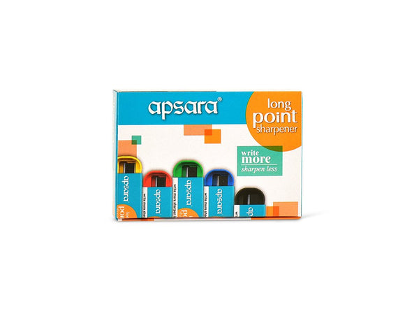 Apsara Long Point Sharpeners MRP 5 Piece 1