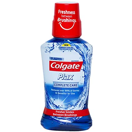Colgate  Plax Mouth Wash,Complete  Care,250ml