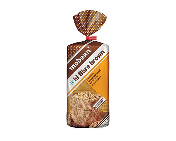 Modern Hi Fibre Brown Bread 400 gms