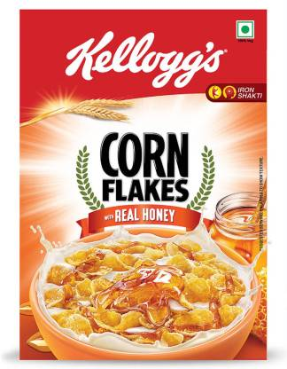 Kellogg's Corn Flakes Real Honey