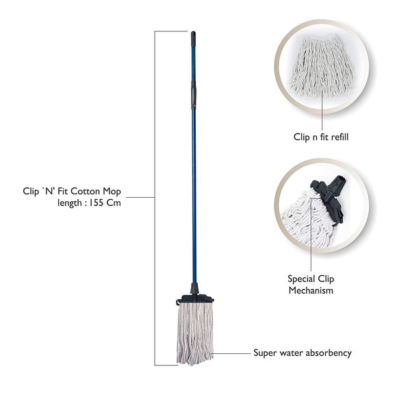 Gala easy  Clip N Fit Floor Mop