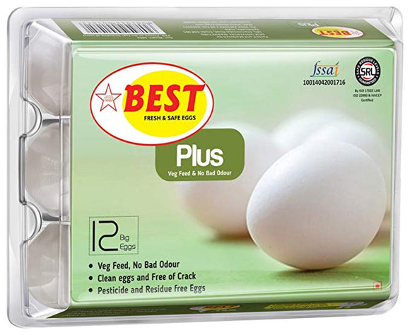 Best Plus Eggs 6 Pieces
