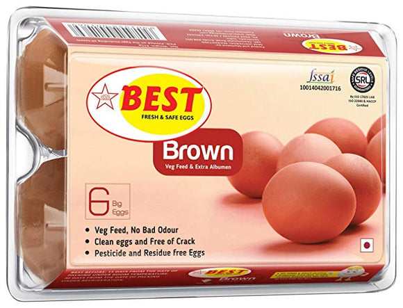 Best Brown Eggs 6 Pieces