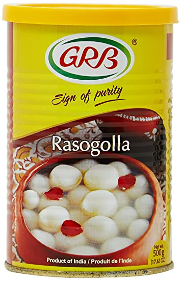 grb rasogolla 300g 8 pieces