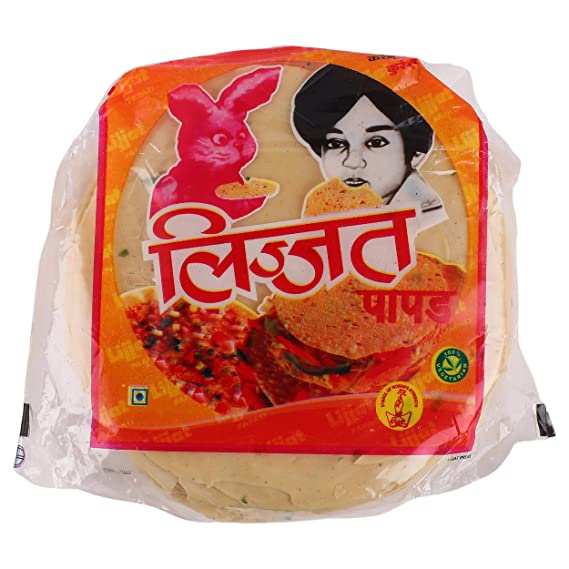 Lijjat Papad - Garlic, 200g