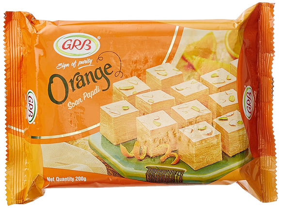 GRB Soanpapdi, Orange, 200g
