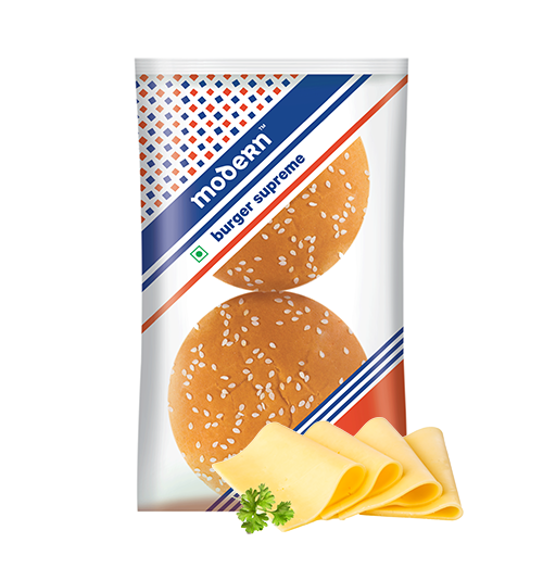 Modern Burger bun  Supreme pack of 2