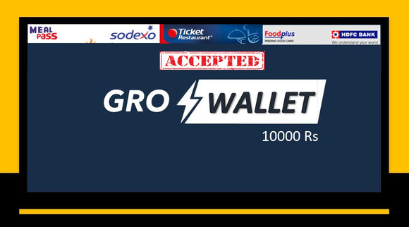 GroWallet Platinum (10000Rs)