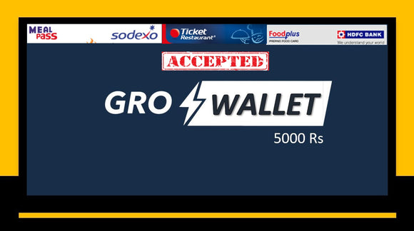 GroWallet Gold (5000Rs)