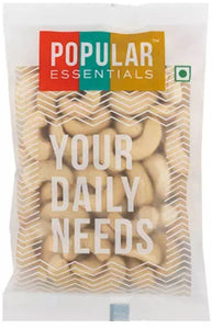 popular essentials  cashews 100g pack