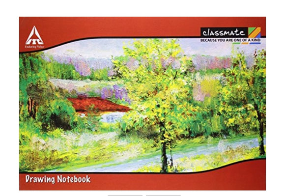 Classmate Drawing NoteBook-A4,40 Pages,Soft Cover