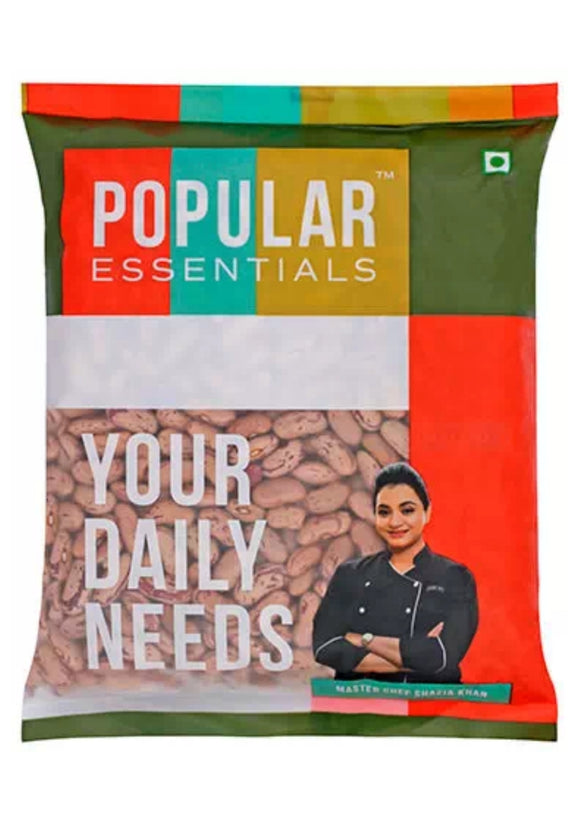 Popular Essentials Rajma White 500g
