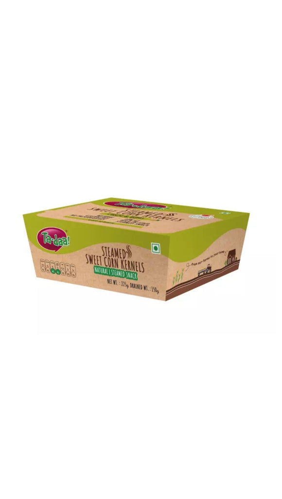 Ta-daa Sweet Corn kernels,Cheese &Herbs 225g Box