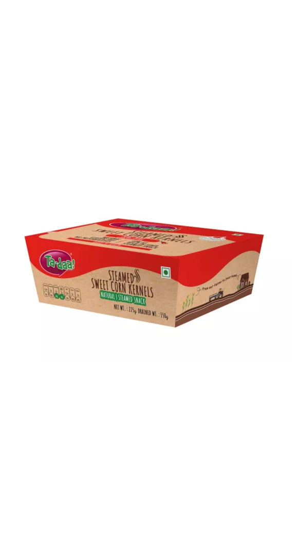 Ta-daa Sweet Corn Cereals  Peri Pari 225g Box