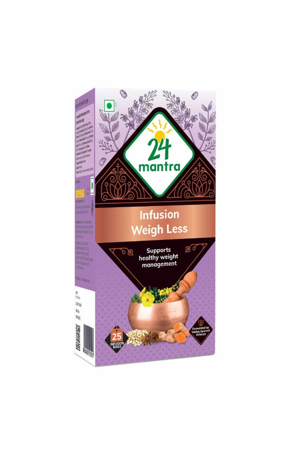 24 Mantra Ayurvedam Weigh Loss 25 bags