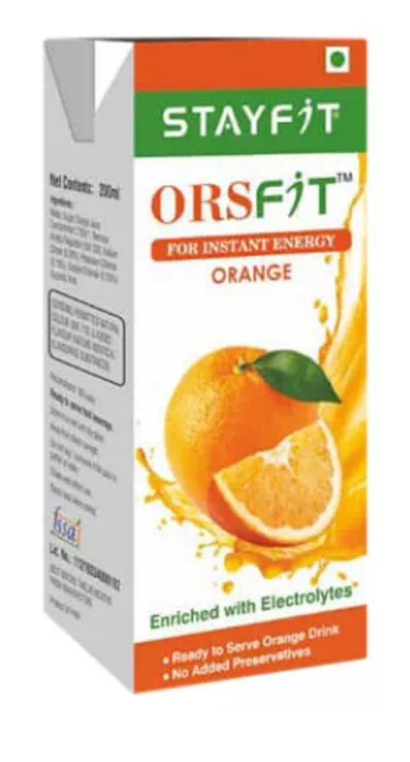 Stayfit ORSFIT instant Energy Drink 200ml Pack of 2