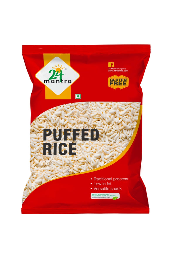 24 Mantra Natural Puffed Rice, 200g