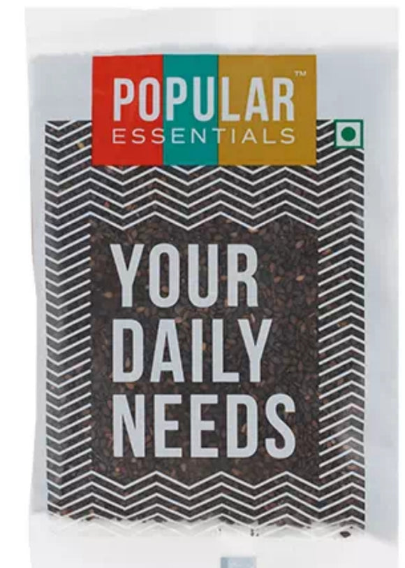 popular essentials black til 100g