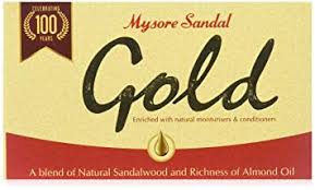 Mysore Sandal Gold Soap, 125g