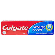 Colgate Toothpaste Strong Teeth Dental Cream