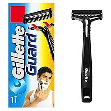 gillette guard manuval shaving razor with cartridge