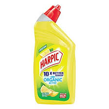 harpic organic active citrus toilet cleaner