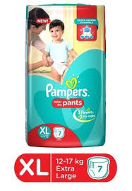 pampers baby dry pants,extra large(12-17kg)