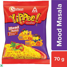 Sunfeast Yippee Mood Masala Noodles(Buy 2 Get 1 Free)