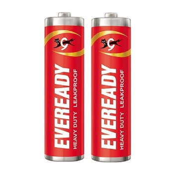 EVEREADY BATTERY RED AA – PACK OF 2 PCS