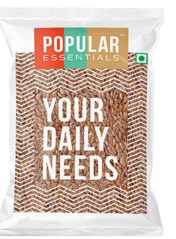 popular essentials flax seed 100g
